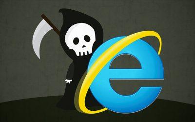 Fin du support d'Internet Explorer (Microsoft)