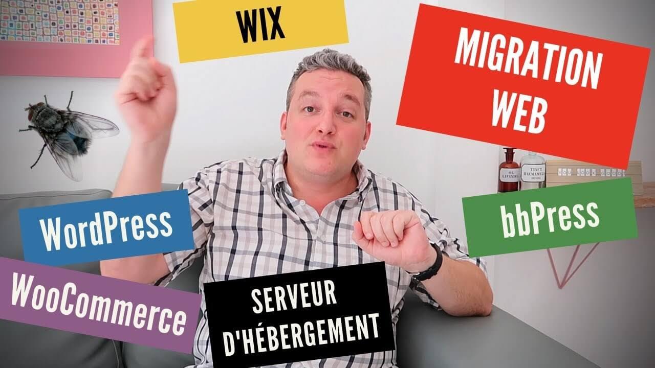 Migration de serveur Web, WordPress, WooCommerce etc. par Nicolas Laruelle