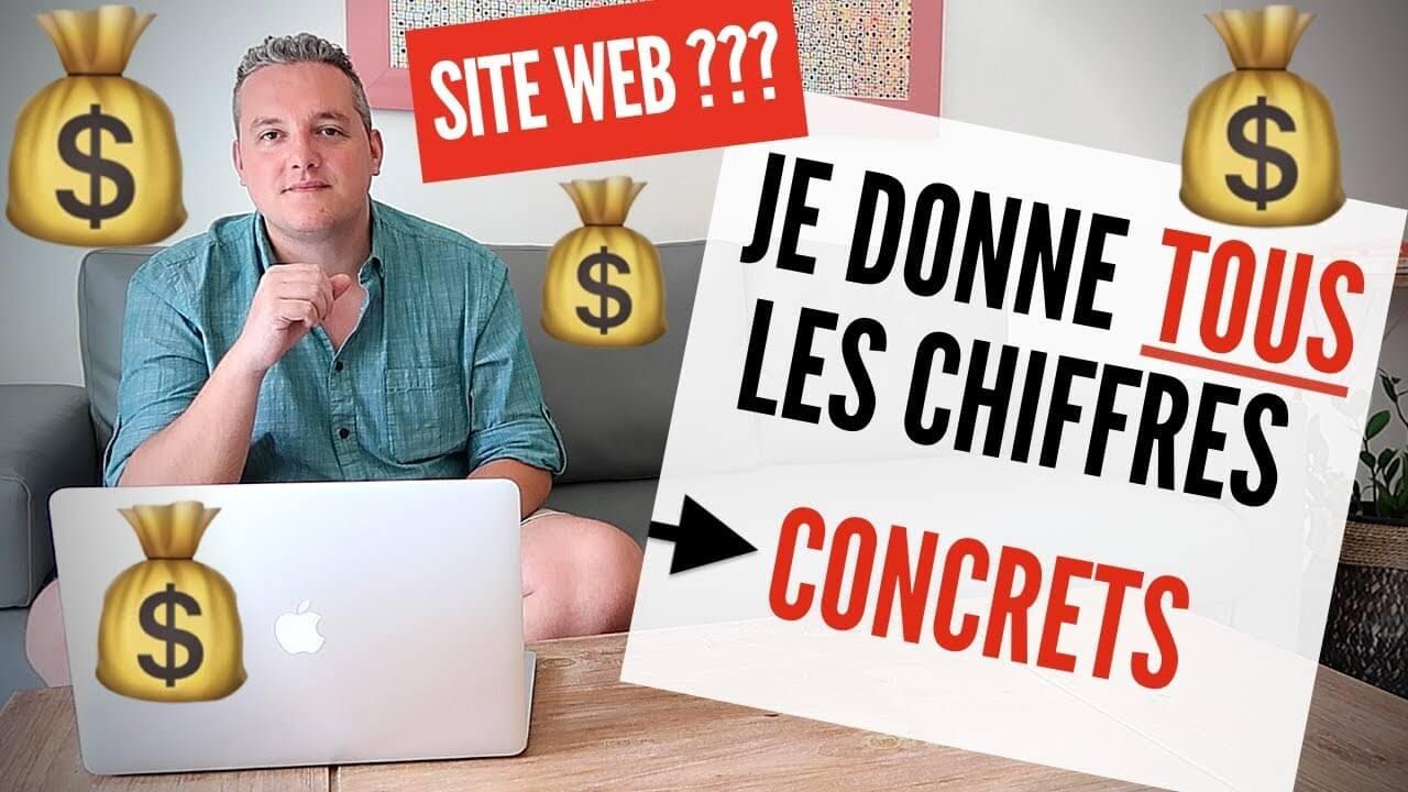 Quel est le prix d'un site Internet? (vidéo de Nicolas Laruelle)